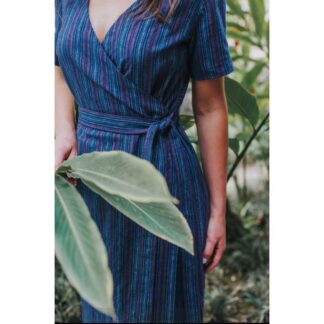 wrap dress schnittmuster