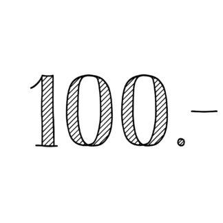 100.-