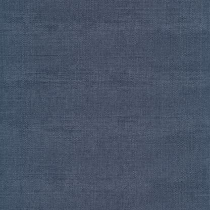 linen coated blue denim