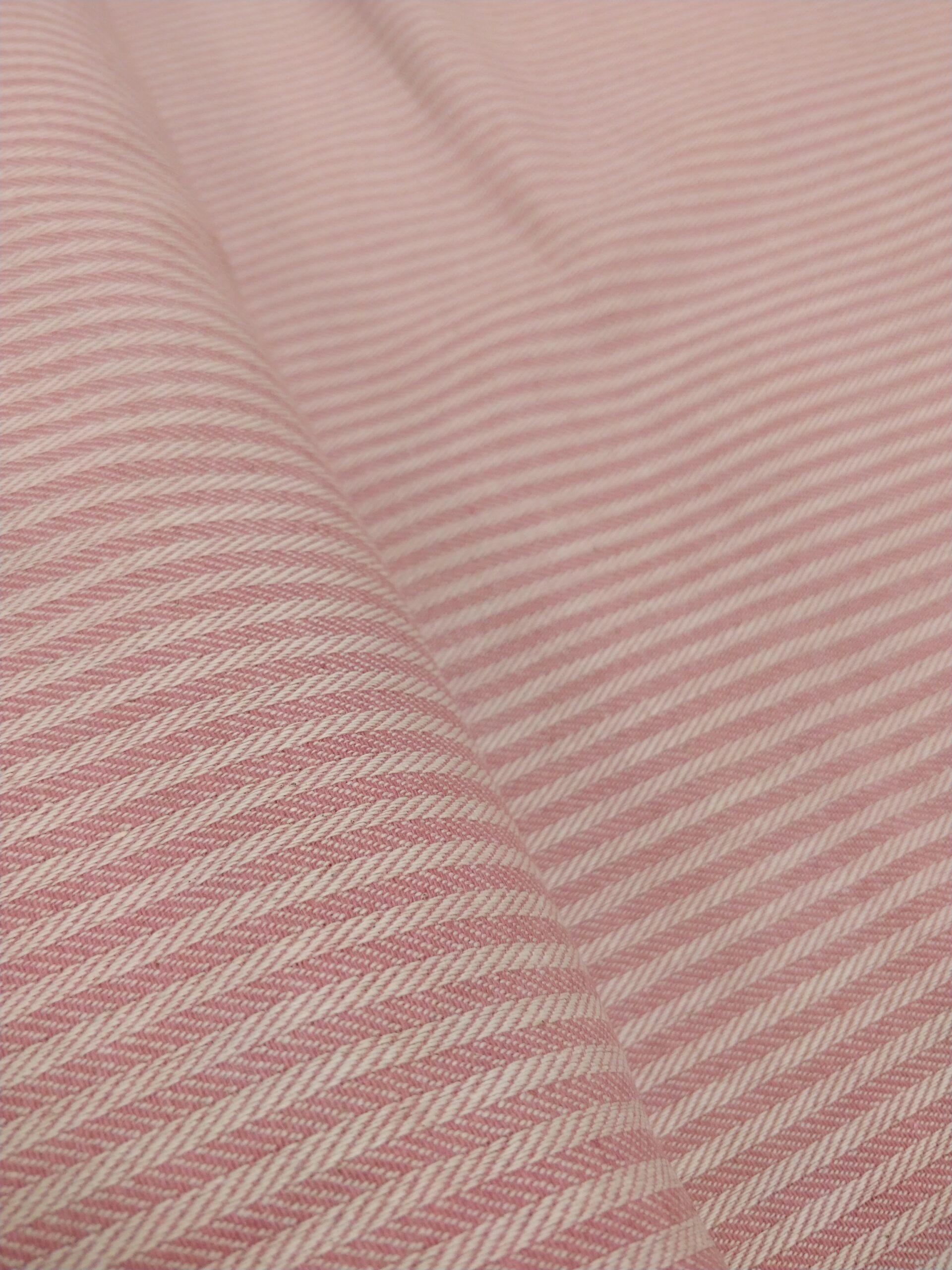 dobby stripes rosa