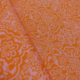 orientalisch rosa/orange