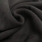 soft grain jaquard schwarz