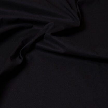 popeline schwarz