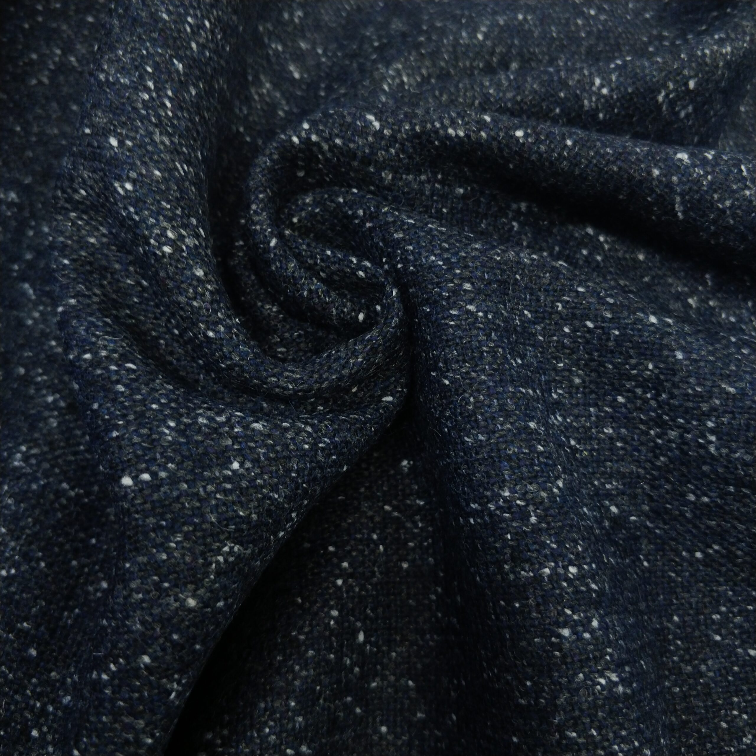 tweed dunkelblau