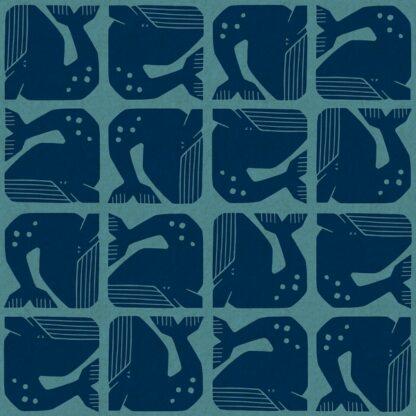 grump whale bw