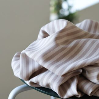 two tone stripe twill WARM SAND