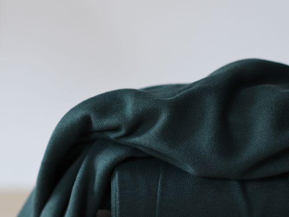 soft lima knit deep green
