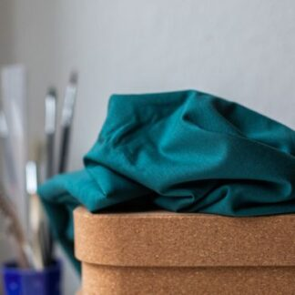 BASIC STRETCH JERSEY EMERALD