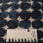 kokka watercolor blua and black