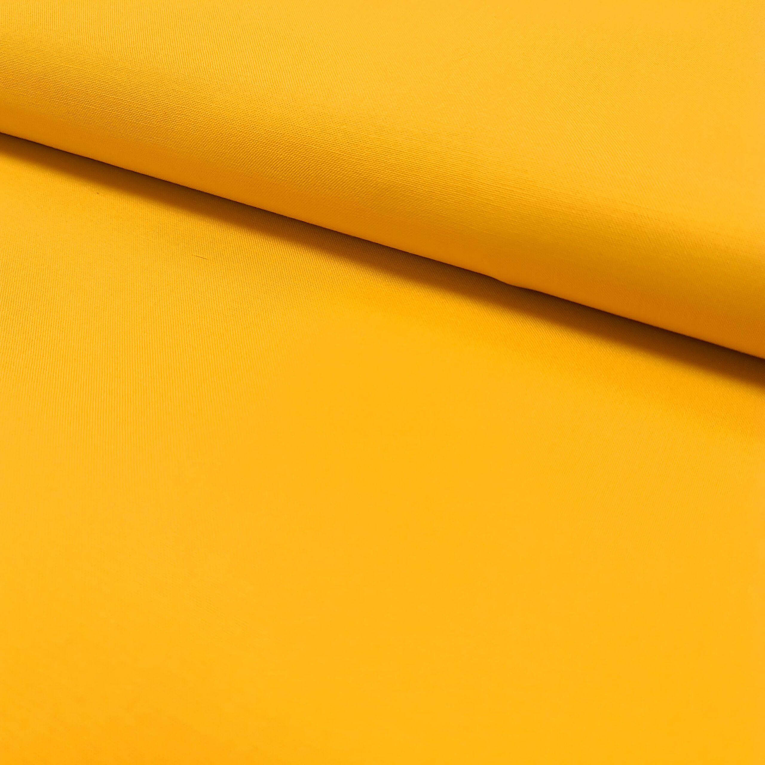 gelb uni baumwolle