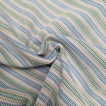 jaquard strick blau