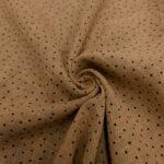 cotton slub washed braun