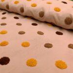 cotton dots rosa