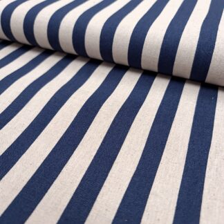 CANVAS STRIPES BLUE