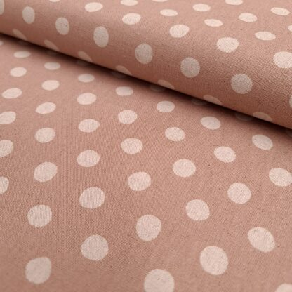 canvas punkte rosa