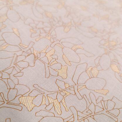 floral grau gold