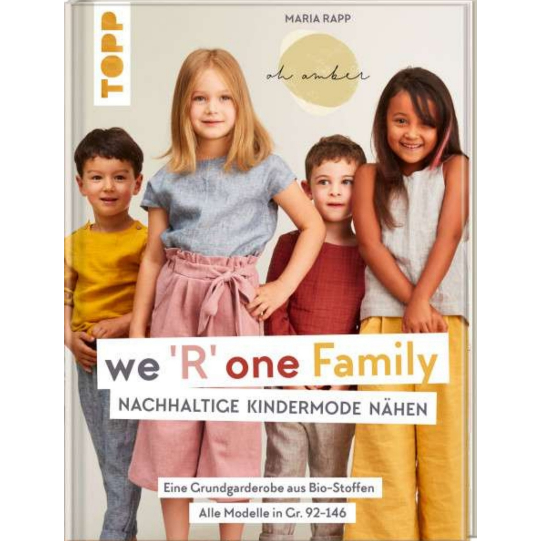 WE 'R' ONE FAMILY NÄHBUCH
