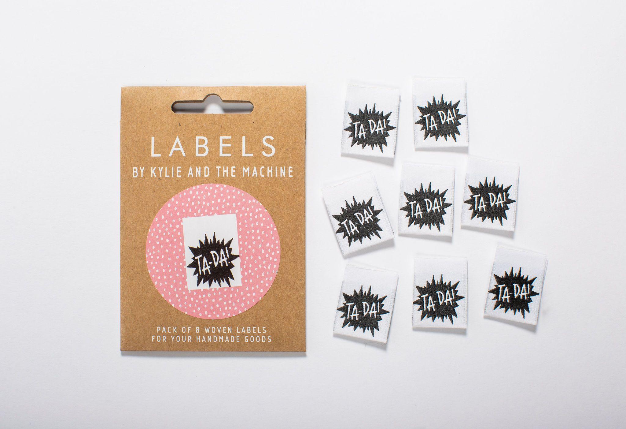 ta da labels