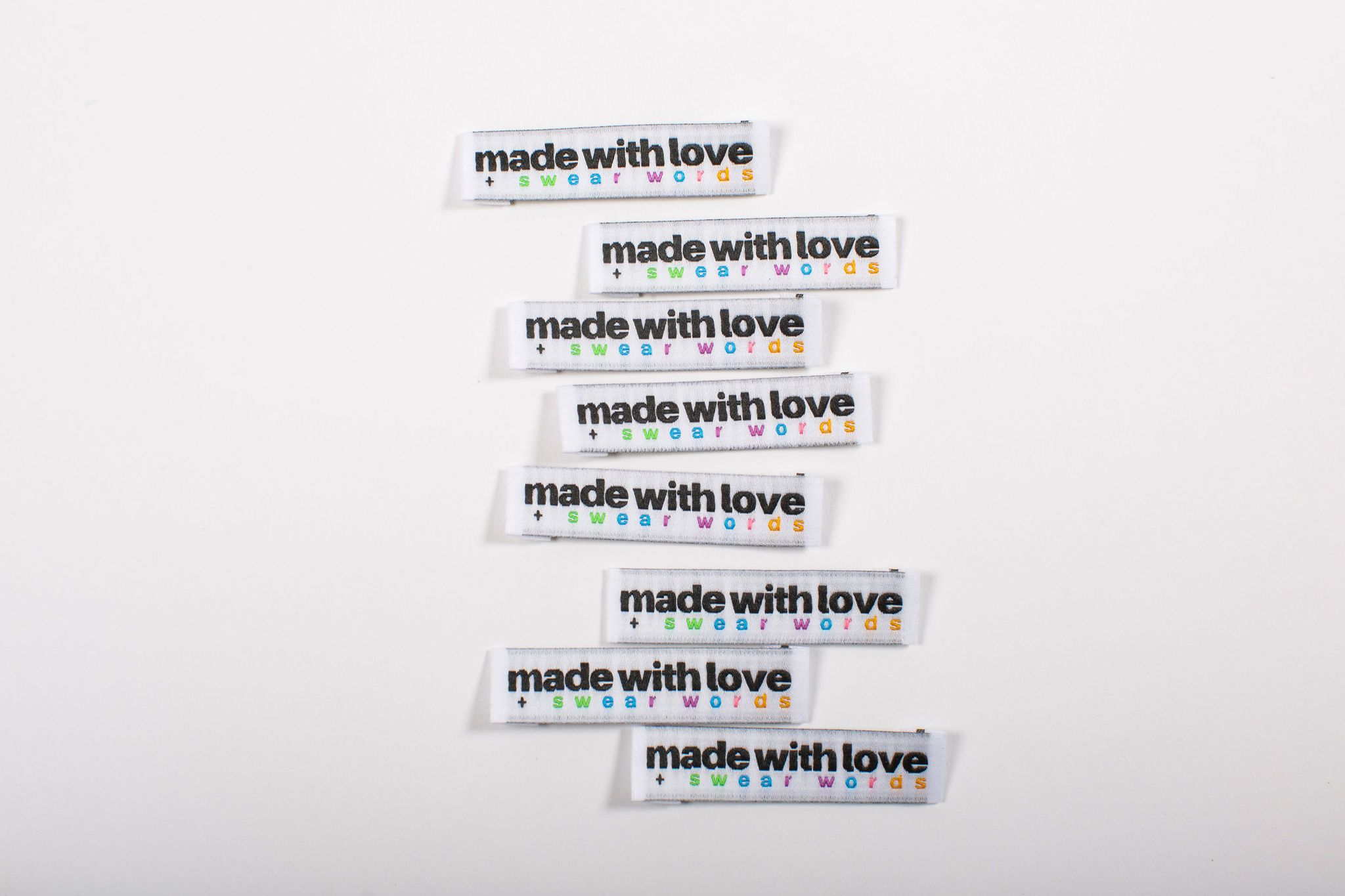 made with love labels