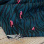 zebra vert eglantine & zoe viskose