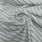 strickfrotte weiss/mint