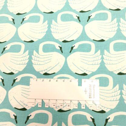 swan mint baumwolle