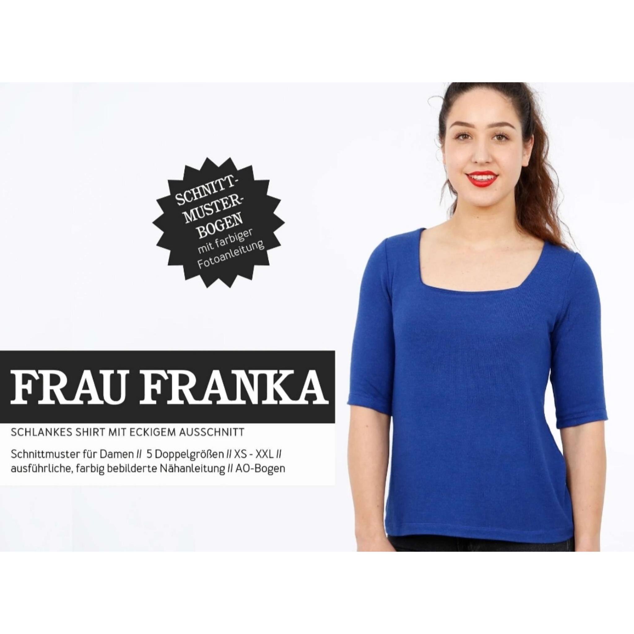 FRAU FRANKA schnittmuster studio schnittreif
