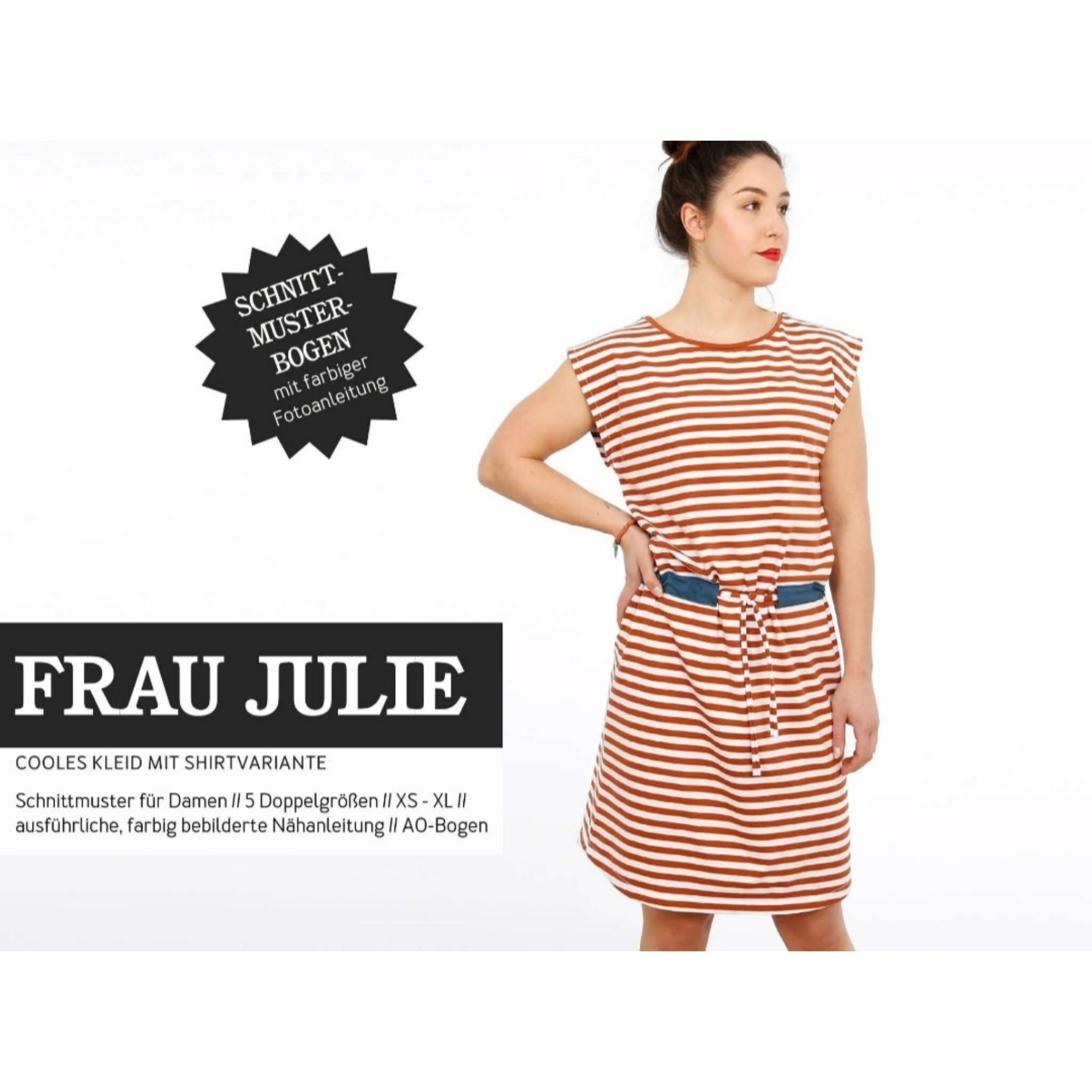 FRAU julie schnittmuster studio schnittreif