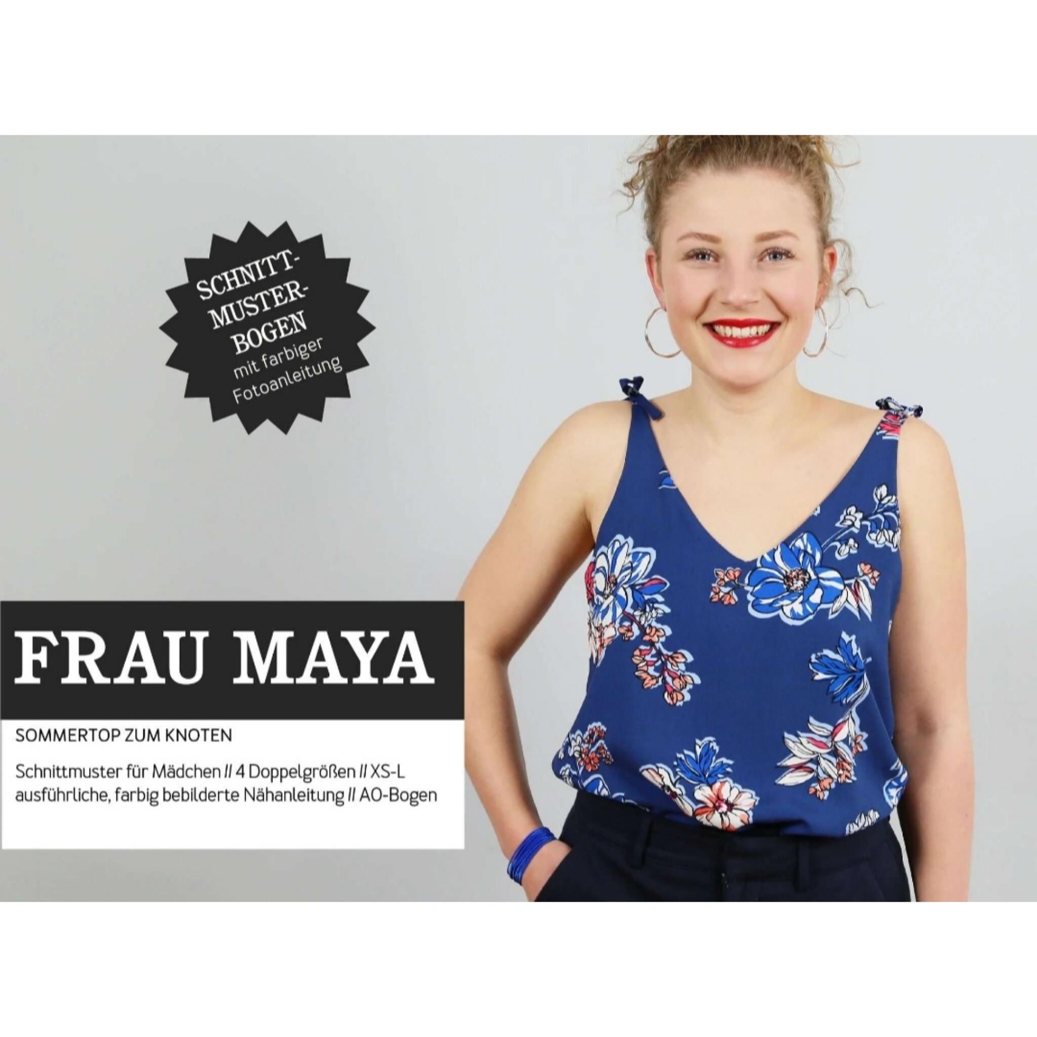 FRAU MAYA schnittmuster studio schnittreif