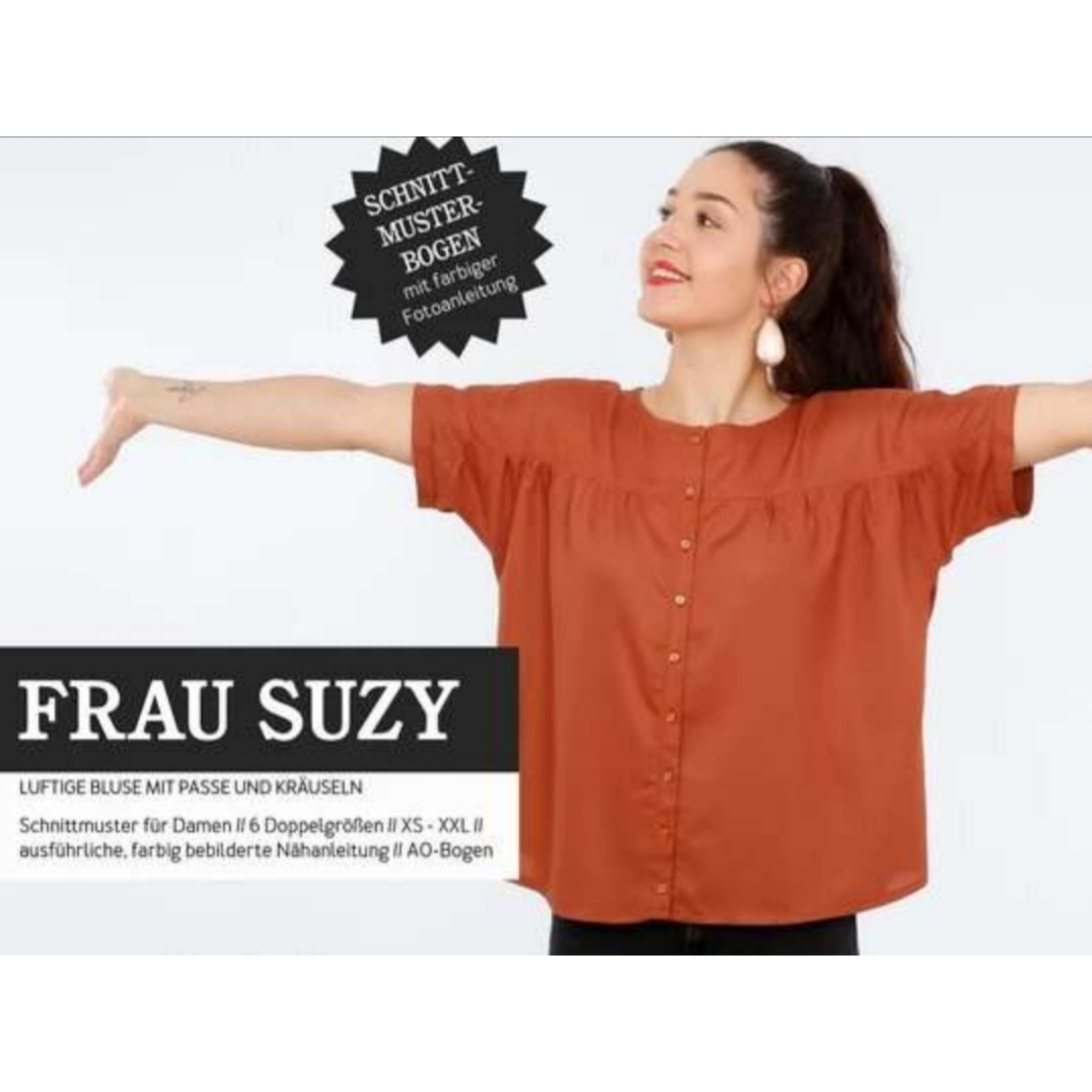 FRAU SUZYschnittmuster studio schnittreif