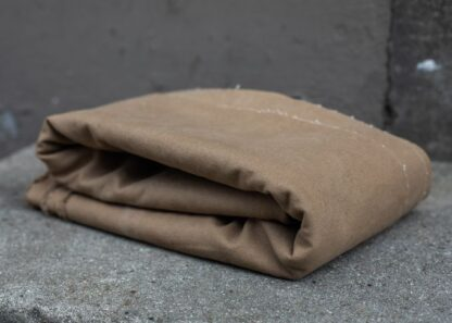 brown khaki heavy washed canvas mind the maker