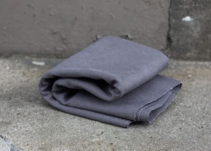 PEWTER heavy washed canvas mind the maker