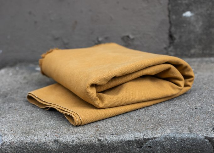 MUSTARD heavy washed canvas mind the maker