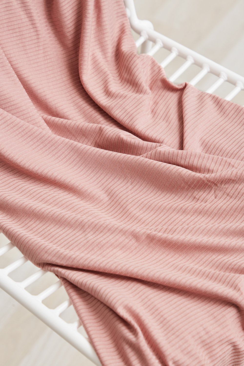 DERBY RIBBED JERSEY PUFF