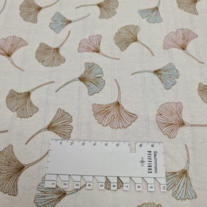ginkgo leaves baumwolljersey pastell