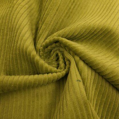 breitcord hellgrün baumwolle