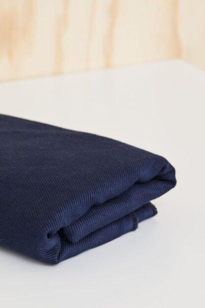 linen cotton twill, mind the maker, navy