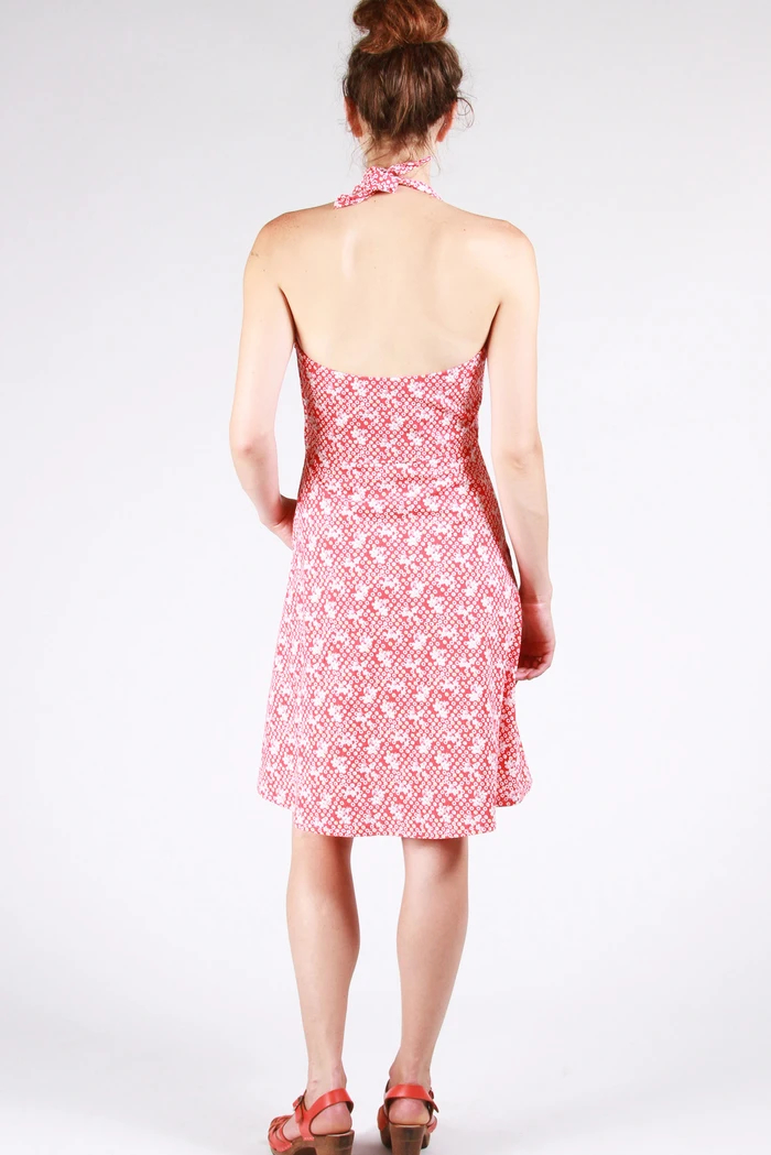 rose city halter dress, sew house seven, schnittmuster